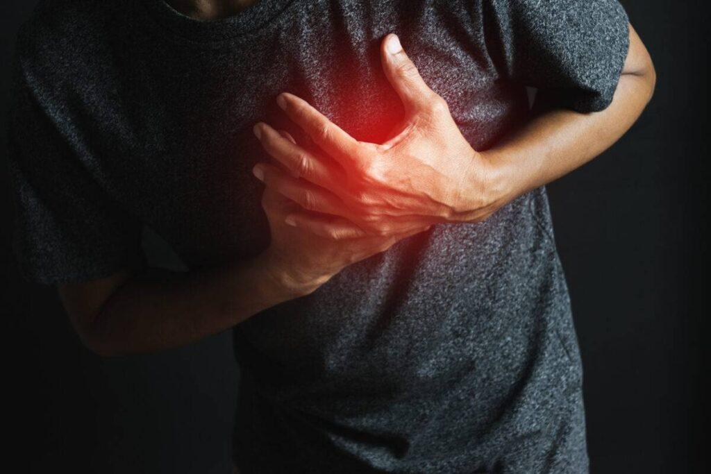 علامات امراض القلب