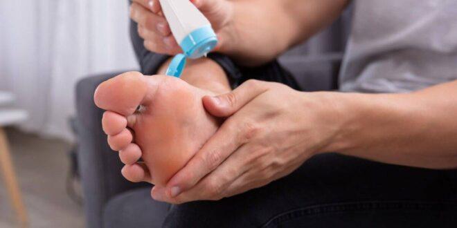 علاج تقرحات القدم بالاعشاب